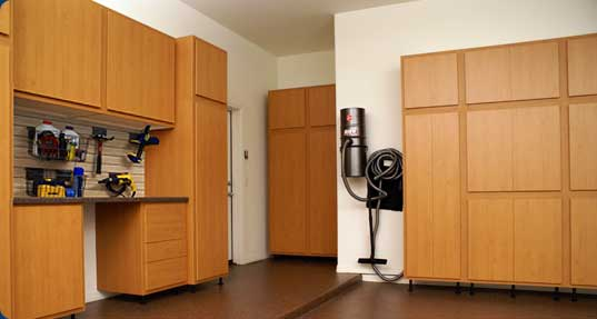 St Pete Florida garage cabinets